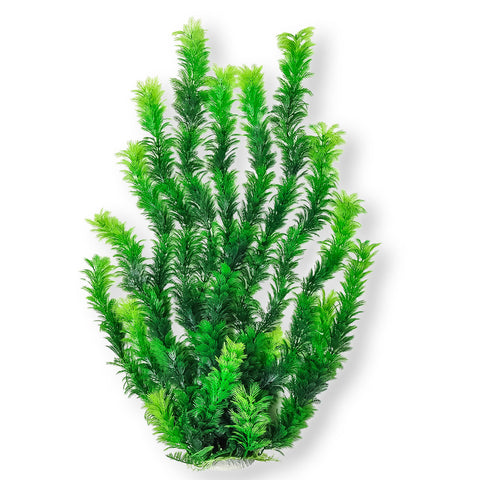 Dark Green Bushy 24 Aquarium Plant Pd Bh55 W Weighted