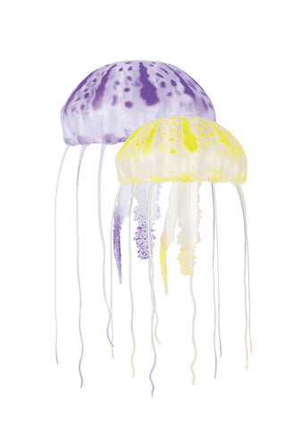 Floating Jellyfish Decor 2pk - Purple/Yellow