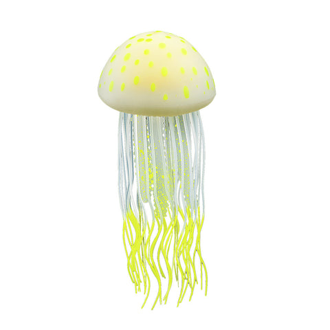 Silicone Jellyfish Decor, Rhizostome Pulmo, 1pc, Large