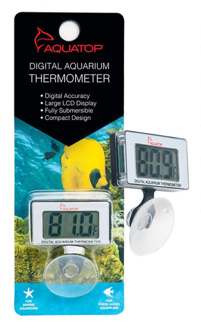 Submersible Thermometer w/ Digital Display & Suction Cup Mount DTG15