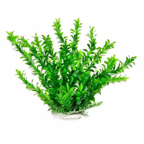 "Anacharis-Like 9"" Aquarium Plant w/ Weighted Base"