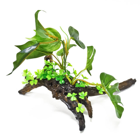 "Aquarium Plant - Resin Base - 14""(W) x 12""(H)"