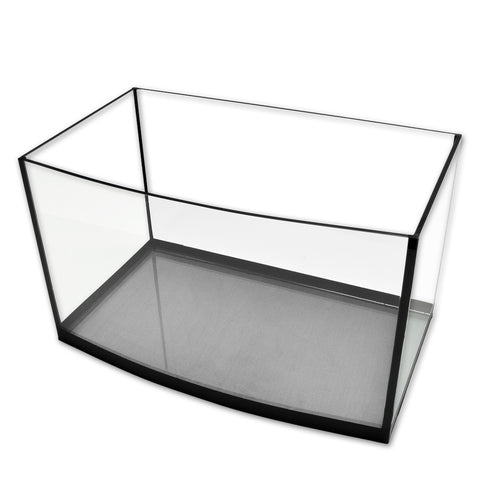 Eurostyle Bowfront Glass Aquarium ES-12, 3.5 Gallons