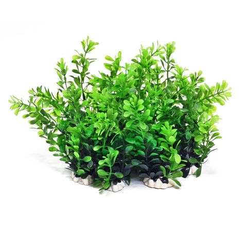 "Plastic Aquarium Plants - Nice Green 8"" High (12-Pack)"