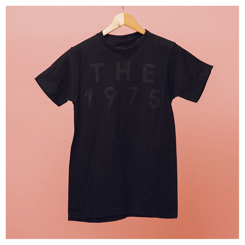 Black on Black Pop Up T-Shirt