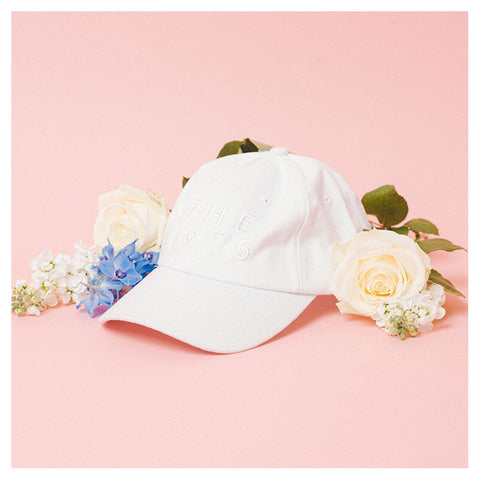 White on White Cap - The 1975 Official Merch and Online Store