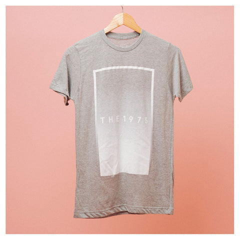 Grey Rectangle Fade T-Shirt - The 1975 Official Merch and Online Store