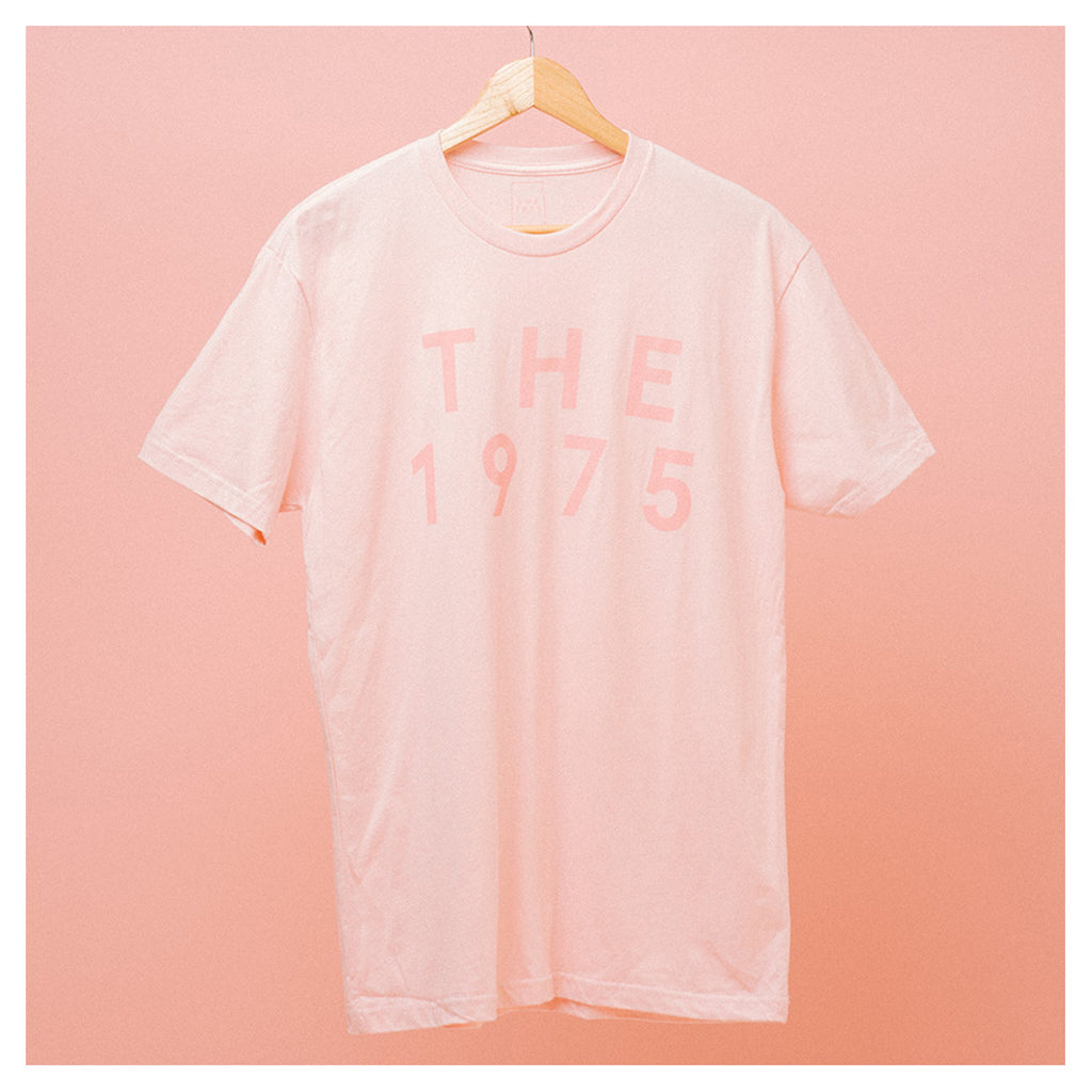 Pink On Pink Pop Up T Shirt The 1975 Online Store