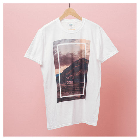 She Lays Down Neon T-Shirt - The 1975 Official Merch and Online Store