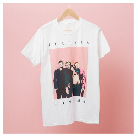 White Love Me T-Shirt - The 1975 Official Merch and Online Store