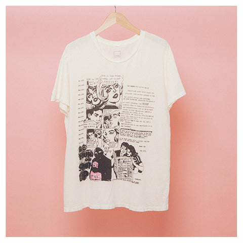 Old Matty Comic Strip T-Shirt - The 1975 Official Merch and Online Store