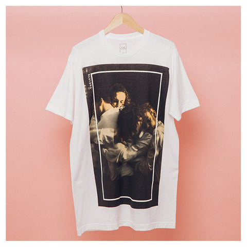White Group Photo T-shirt - The 1975 Official Merch and Online Store