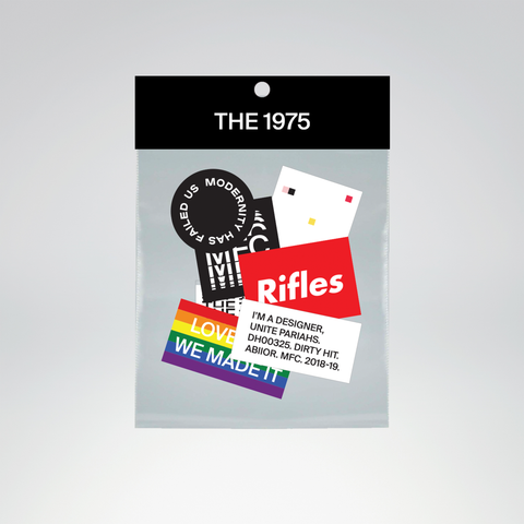 The 1975 Sticker Pack + Digital Album