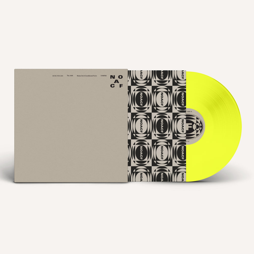 'Notes On A Conditional Form' Yellow 2LP