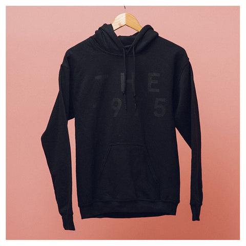Black on Black Pop Up Hoodie - The 1975 Official Merch and Online Store