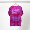 BIRTHDAY PARTY TONAL DYE T-SHIRT