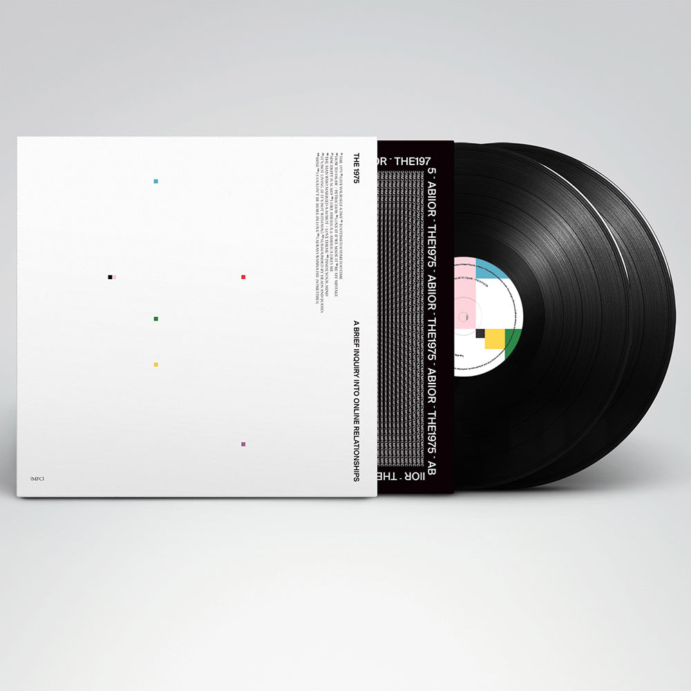 A Brief Inquiry Into Online Relationships Black Vinyl The 1975