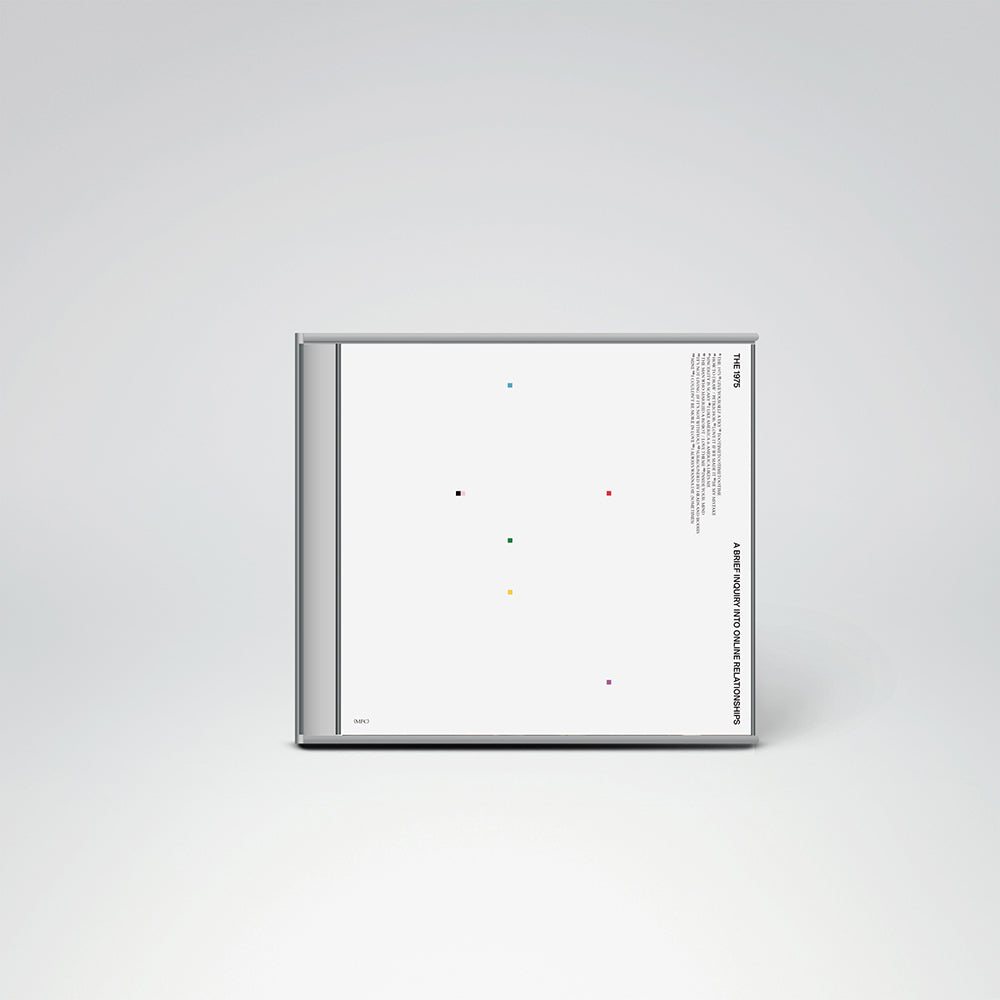 A Brief Inquiry Into Online Relationships Cd The 1975 Official Store