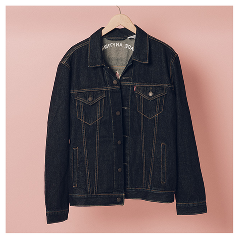 Flower Anything Better Denim Jacket - The 1975 Official Merch and Online Store