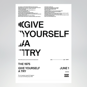 Give Yourself A Try Lithograph + Digital Album