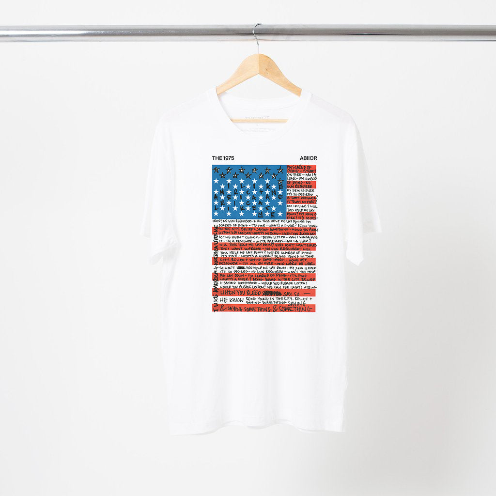 dd257f7bab I Like America T-Shirt + Digital Album – The 1975 Official Store