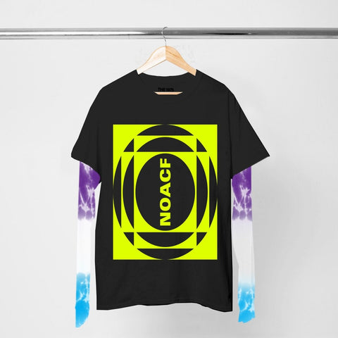NOACF NEON INVERTED TIE DYE LAYERED LS T-SHIRT II