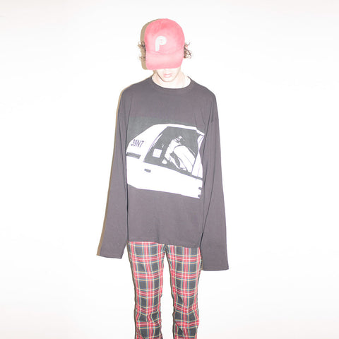 The 1975 Cut + Sew Oversized Longsleeve