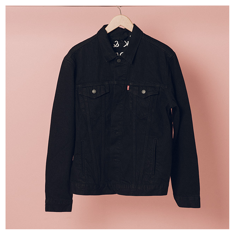 Rock N Roll is Dead Black Denim Jacket - The 1975 Official Merch and Online Store