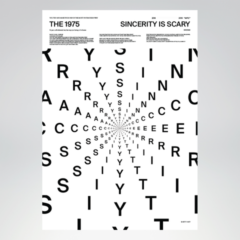 Sincerity Is Scary Lithograph + Digital Album