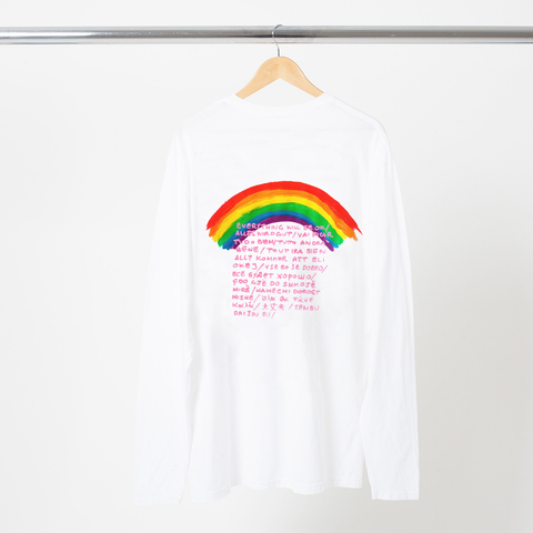 EVERYTHING WILL BE OK L/S T-SHIRT