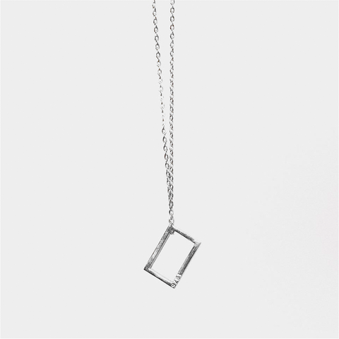 THE 1975 SILVER NECKLACE