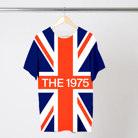 UNION JACK LOGO T-SHIRT
