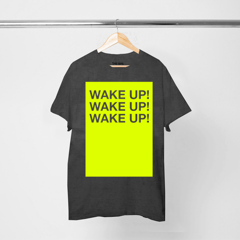 WAKE UP VINTAGE T-SHIRT