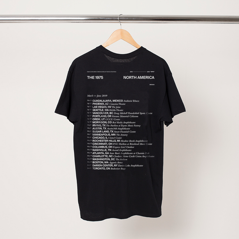 The 1975 North America Tour T-Shirt + Digital Album