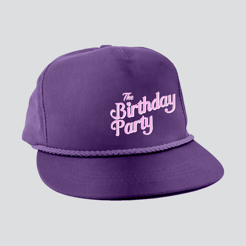 BIRTHDAY PARTY TRUCKER HAT
