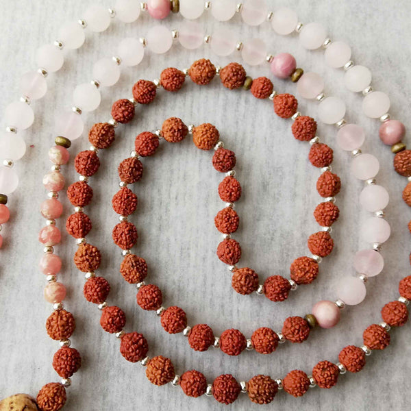 Love-In Rhodochrosite Mala