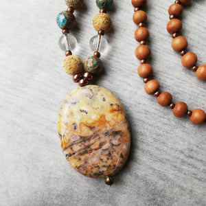 grounding meditation beads
