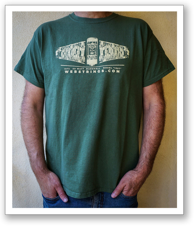 Guitar and Amplifier T-Shirts: Marshall Turret Board T-Shirt