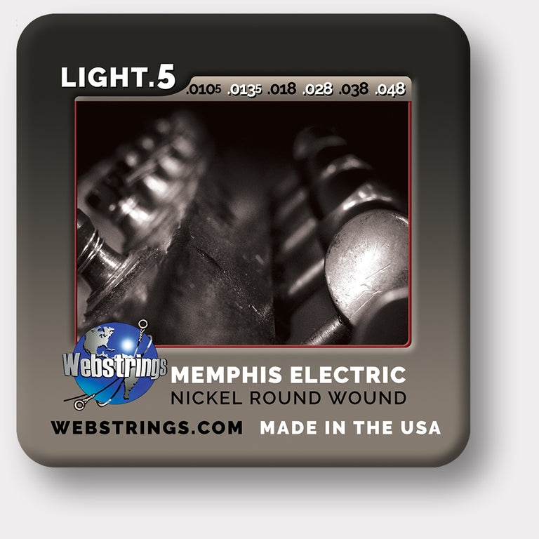 Webstrings Memphis Electric Nickel Guitar Strings, Exceptional Tone and Quality along with long life and the lowest price. Webstrings Memphis Electric Nickel Guitar Strings feel and sound incredible. Webstrings Memphis Electric Nickel guitar strings are an exceptional value.