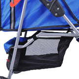 MDOG2 4-Wheel Front & Rear Entry MK0034 Pet Stroller (Blue) - Peazz.com - 9
