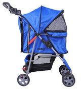 MDOG2 4-Wheel Front & Rear Entry MK0034 Pet Stroller (Blue) - Peazz.com - 7
