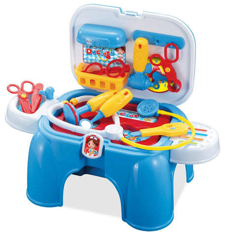 Berry Toys BR008-91 My First Portable Play & Carry Doctor Play Set - Peazz.com