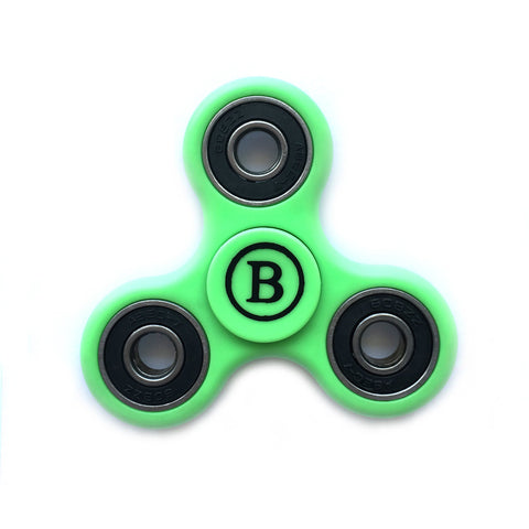Fidget Hand Spinner High Speed Steel Bearing, ADHD Focus Anxiety Relief Toy - Green