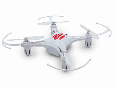 Merske MK10004 Eachine H8 Mini Headless Mode 2.4G 4CH 6 Axis Quadcopter RTF RC Helicopter - White - Peazz.com - 1