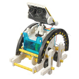 Merske MK10033 14 In 1 Solar Powered DIY Robot Boat Kit - 3