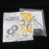 Merske MK10040 Children Sunlight 3 In 1 DIY Solar Robot Pegasus/Flying Horse Kit - 5