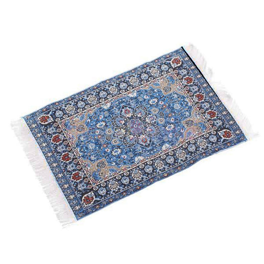 Merske MK10064 Turkish Woven Floral Miniature Carpet 1:12 - 1