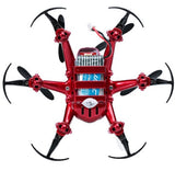 Merske MK10079 One-Key-Return R/C Drone 2.4G 4Ch 6Axis Nano Hexacopter Quadcopter 3D Rollover Headless - Red - 4