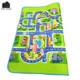 "Merske MK10081 Kids City Traffic Carpet Mat - 78.74"" x 62.99"" - 2"