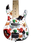 "Angry Birds Flock On 30"" Electric Guitar Set with 5W Amplifier - White"